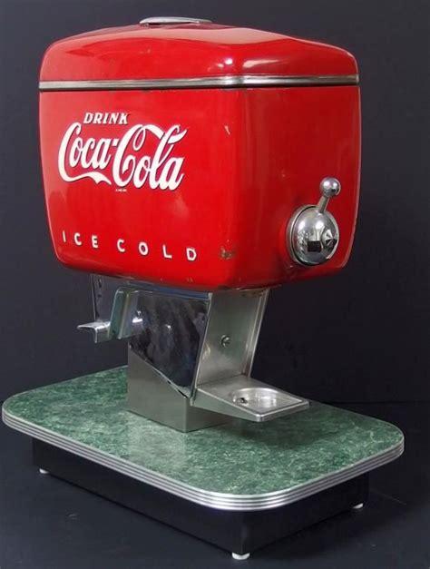 How to make coca cola sprite dispenser at home from cardboard. VINTAGE COCA-COLA SODA POP FOUNTAIN DISPENSER