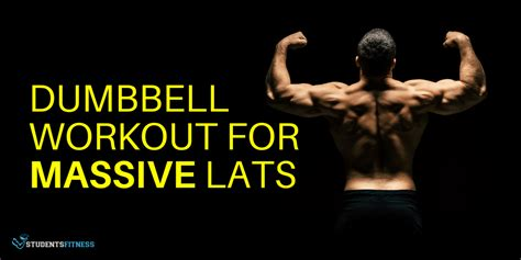A Dumbbell Workout for Lats - Exercise at the Gym or in ...