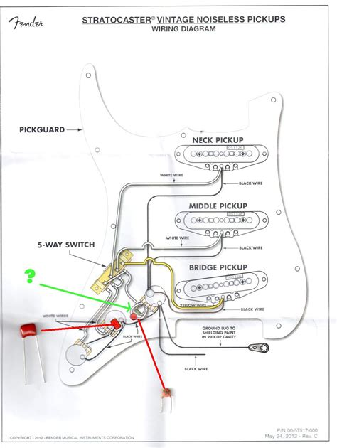 Fender Forums View Topic Noiseless Wiring