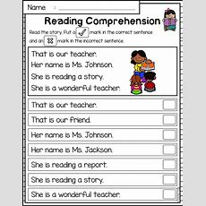 Best 25+ Reading Comprehension Worksheets Ideas On Pinterest  Free Reading Comprehension