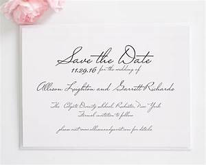 schoolhouse script save the date cards save the date With images of save the date wedding invitations