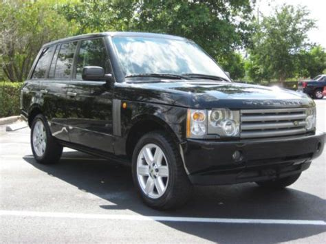purchase   land rover range rover  owner