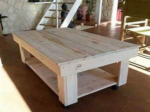 Plan De Table Palette : tuto meuble en bois de palette tuto palette ~ Dode.kayakingforconservation.com Idées de Décoration