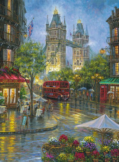 puzzle picturesque london ravensburger   pieces
