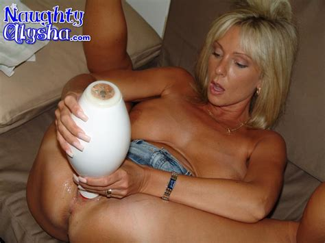 tanned blonde milf wearing dark top and den xxx dessert picture 9