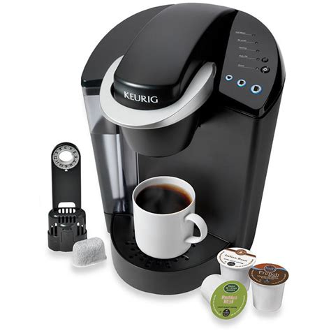 Keurig K45 Single Cup Home Brewing System Elite Coffee Maker Black NEW   eBay