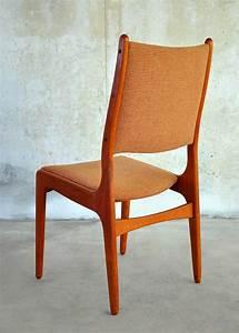 Select, Modern, Set, Of, 6, Danish, Modern, Teak, Dining, Chairs