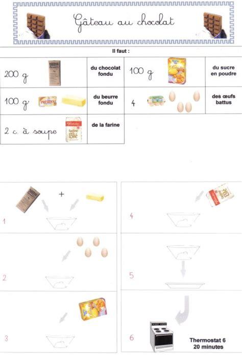cours de cuisine chocolat gâteau au chocolat photo de recettes de cuisine ecole