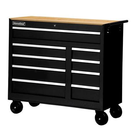 home depot tool cabinet husky 52 in 18 drawer tool chest and rolling tool cabinet