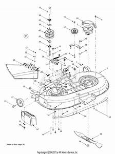 Mtd 13bt604g401  2003  Parts Diagram For Deck Assembly  U0026quot G U0026quot