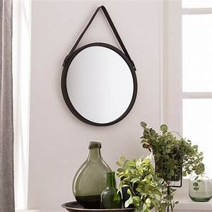 Miroirs Leroy Merlin : miroir barbier noir x cm leroy merlin ~ Melissatoandfro.com Idées de Décoration
