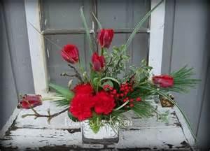 Christmas Flower Arrangement Centerpiece Ideas