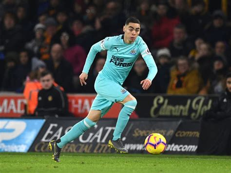 Agent Reveals Newcastle Star Miguel Almiron Rejected ...