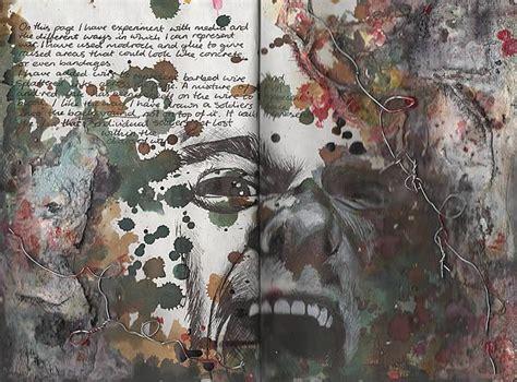 Creative Sketchbook Examples Inspire Art Students