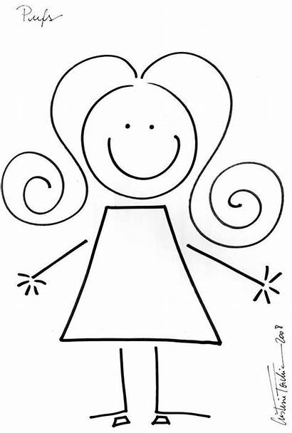 Stick Figures Figure Pages Clipart Drawings Drawing
