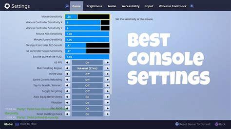 fortnite settings  settings  improve performance