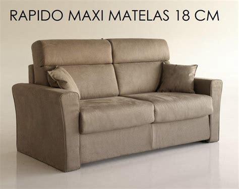 matelas pour canapé rapido canape systeme rapido longo convertible 140 195cm matelas
