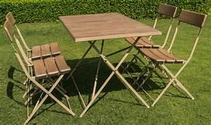 Salon De Jardin Pliant : awesome salon de jardin en bois pliant contemporary ~ Dailycaller-alerts.com Idées de Décoration