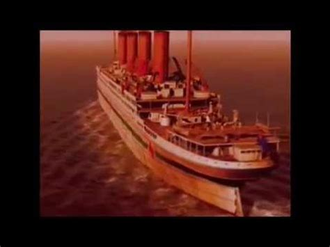sinking of hmhs britannic youtube