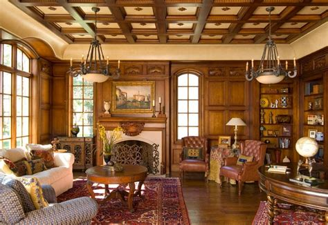 country furniture style room design ideas brown leather sofa for country style living room