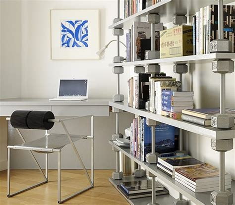 small home office with modern cd storage solutions olpos