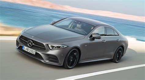 New 2019 Mercedes-Benz CLS is Hybrid and Mean