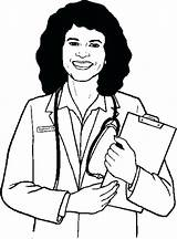 Doctor Drawing Female Coloring Body Pages Drawings Getdrawings Anatomy Clipartmag Paintingvalley sketch template