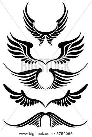 Wing logo   Wing tattoo designs, Wings tattoo, Tattoo designs