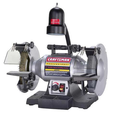 variable speed bench grinder bench grinders get bench grinder stands at sears