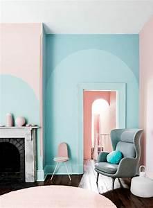 Peinture Bleu Ciel : 1001 id es pour votre peinture murale originale ~ Melissatoandfro.com Idées de Décoration