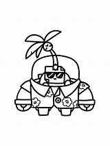 Sprout Coloring Pages Skin sketch template