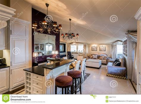 Living Room Connected To Dining