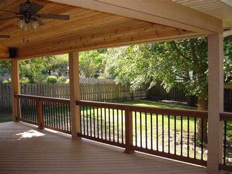 covered porch ideas covered deck pictures and ideas
