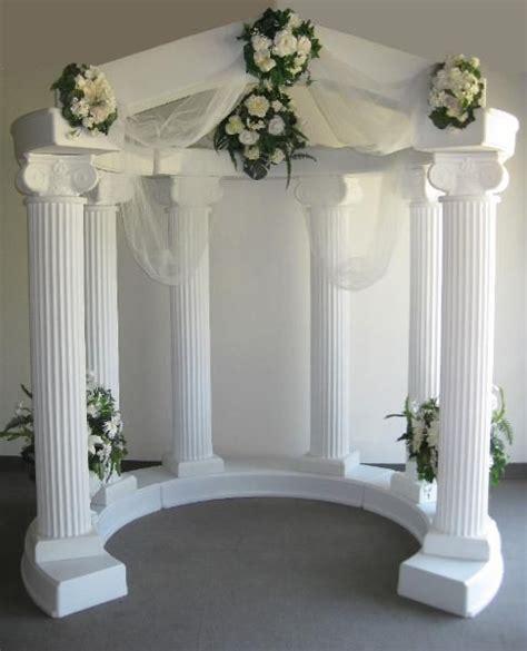 Pic Of Weddin Column Wedding Column Arches Archway