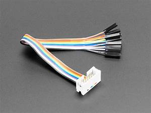 10-pin Idc Socket Rainbow Breakout Cable Id  1199