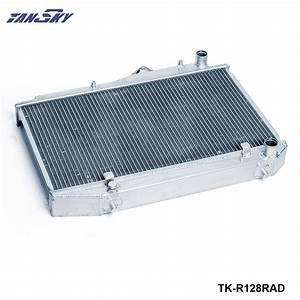 Tansky Racing Manual Transmission Aluminum Radiator  2 Row