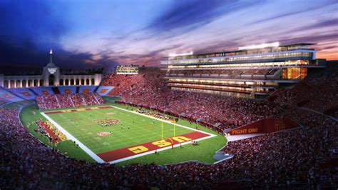 San Diego Chargers Wallpaper Los Angeles Coliseum Renovations Pitched By Usc Football Stadium Digest