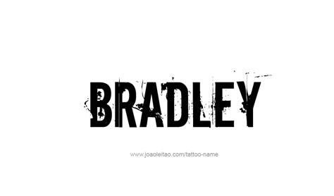 bradley designs bradley name designs