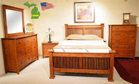 Mission Bedroom Furniture by Michigan Mission Bedroom Furniture Made In Michigan