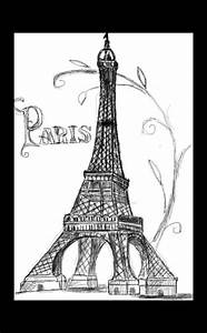 Eiffel Tower Drawing | Drawing :) | Pinterest | Eiffel ...