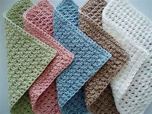 Dagens oppskrift: Waffle Crochet Spa Washcloth