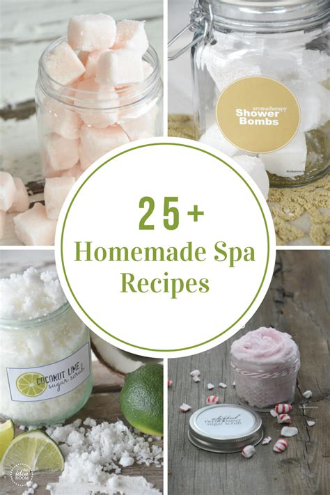 diy recipe homemade spa recipes the idea room