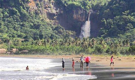 geopark ciletuh  air terjun cantik hingga pantai menarik