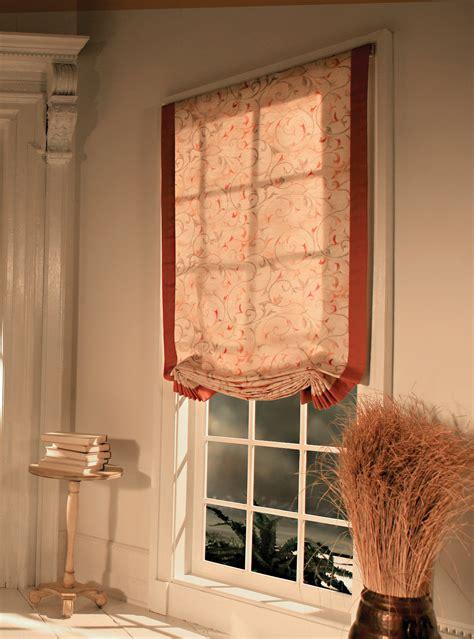 Fabric Roman Shades  Custom Window Treatments Custom