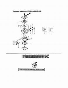 Poulan 2055le Type 2 Gas Chainsaw Parts