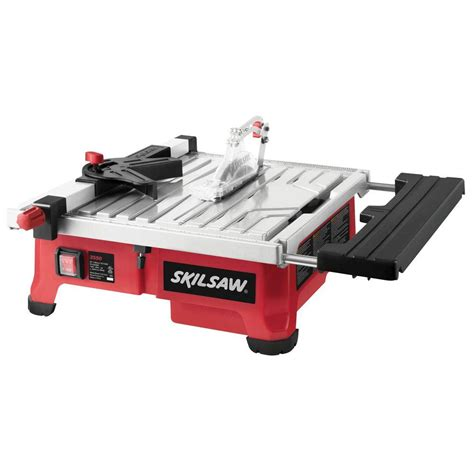 skil flooring saw home depot skil 5 corded 7 in tile saw with hydrolock system