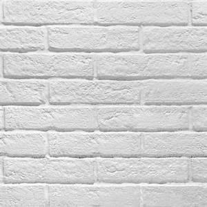 Mur Brique Blanc : carrelage mur blanc effet brique 6 x 25 cm brixton vendu au carton castorama ~ Mglfilm.com Idées de Décoration