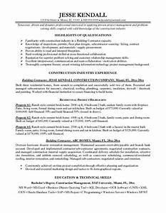 general contractor resume resume template 2018 With contractor resume template
