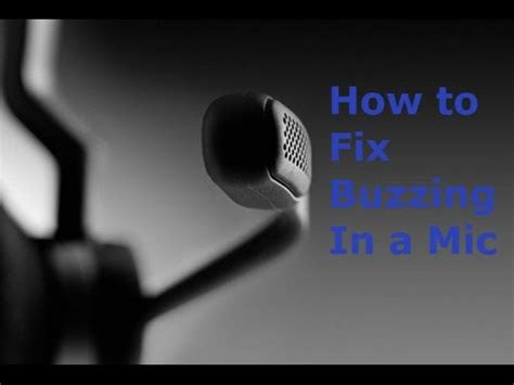 how to fix headphone buzzing noise