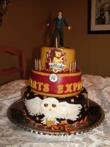 otter cake topper harry potter cake
